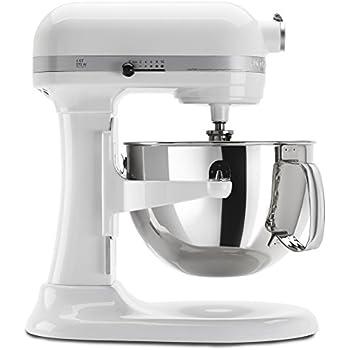 KitchenAid KP26M1XWH 6 Qt. Professional 600 Series Bowl Lift Stand Mixer    White