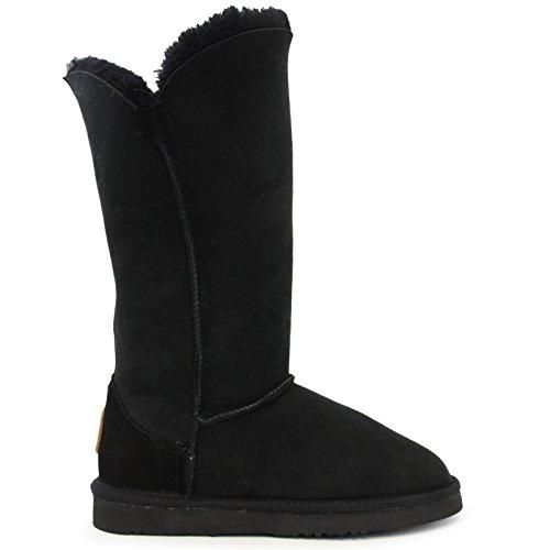 Lamo Womens Liberty 12 Fashion Boot Black