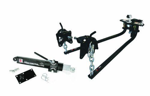 Camco Eaz-Lift Elite Weight Distributing Hitch Kit, Includes Distribution Hitch, Sway Control and 2-5/16