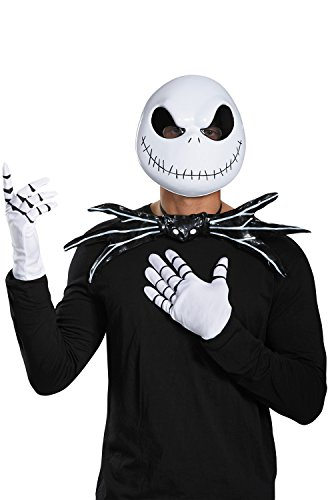 Nightmare Before Christmas Cosplay Costumes (Disguise Jack Skellington Adult Costume Kit-One)