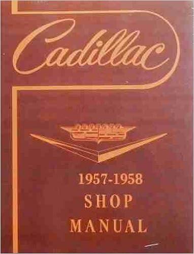 1957 cadillac repair shop manual original cadillac amazon books fandeluxe Image collections