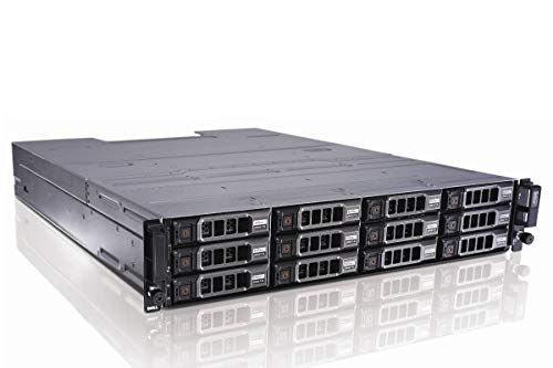 - Dell PowerVault MD1200 DAS, 12 x 3.5