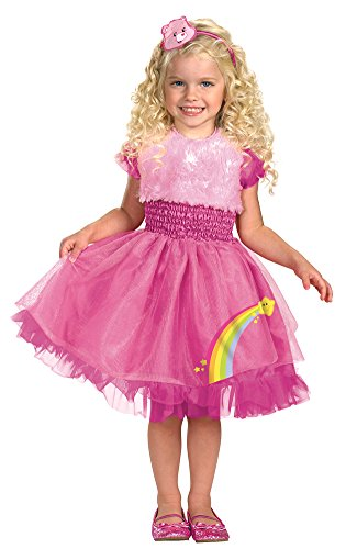 Frilly Cheer Bear Costume - Toddler Medium (Adult Cheer Bear Dress)