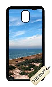 Samsung Note 3 Case,VUTTOO Stylish Baltic Sea Coast Soft Case For Samsung Galaxy Note 3 / N9000 / Note3 - TPU Black