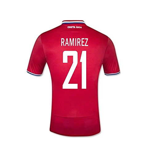 New Balance Quinteros # 19 Panama Home Soccer Jersey Gold Cup 2015 (l) Rosso