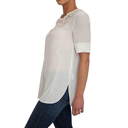 Blusón TWIN-SET Mujer PS72CC -T00827 Blanco Blanco