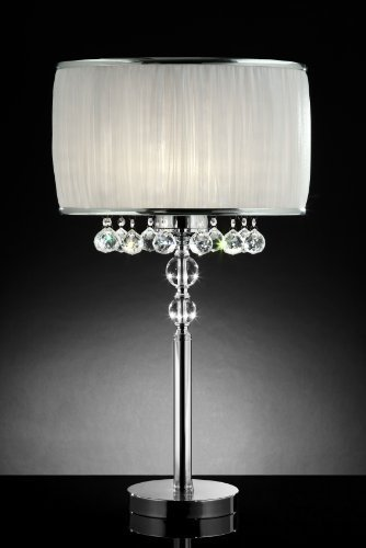 Amazon.com: OK Lighting Pure Essence Table Lamp: Home & Kitchen