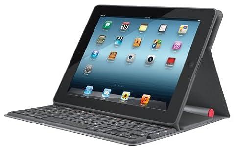 Logitech Solar Keyboard Folio for iPad 2 and iPad (3rd/4th generation) (Ipad 4 Folio)