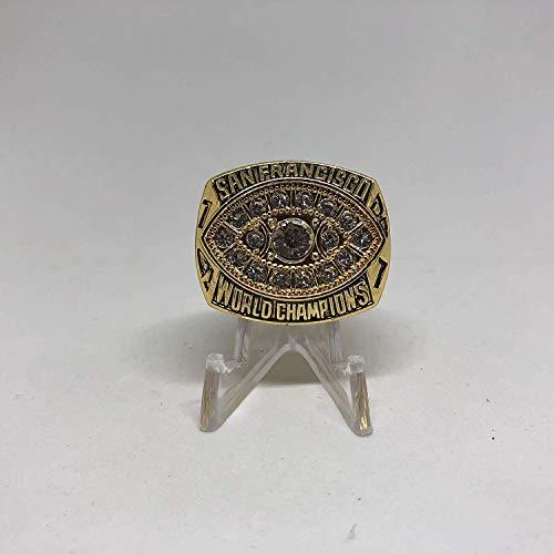 49ers Ring Montana San Francisco (1981 Joe Montana San Francisco 49ers High Quality Replica 1981 Super Bowl XVI Ring Size 10.5-Gold US SHIPPING)