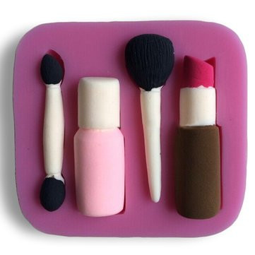 Patty Mildew - Makeup Tool Eye Shadow Design Fondant Cake Mo