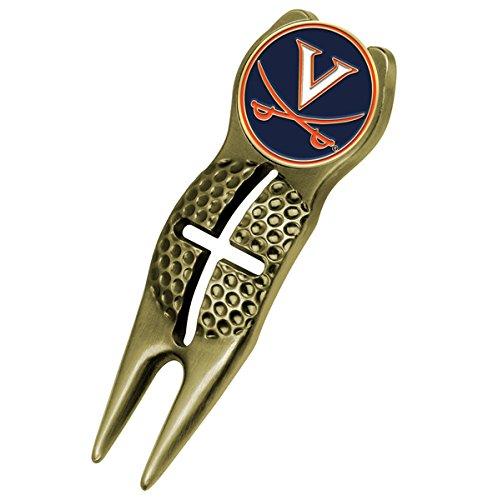NCAA Virginia Cavaliers - Crosshairs Divot Tool - Gold