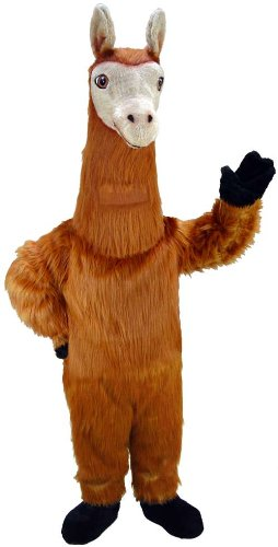 Llama Head Costume - Llama Lightweight Mascot Costume