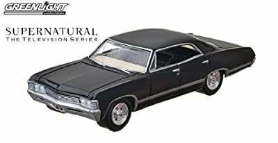 1967 CHEVROLET IMPALA SPORT SEDAN from the television show SUPERNATURAL Greenlight Collectibles 1:64 Scale * Hollywood Series 6 * Die Cast Vehicle