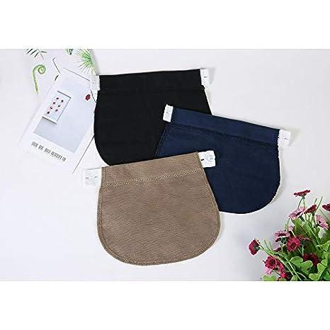 Yogamada Grossesse Baudrier Ceinture Pantalon Extender Taille /élastique r/églable pour Les Femmes Enceintes