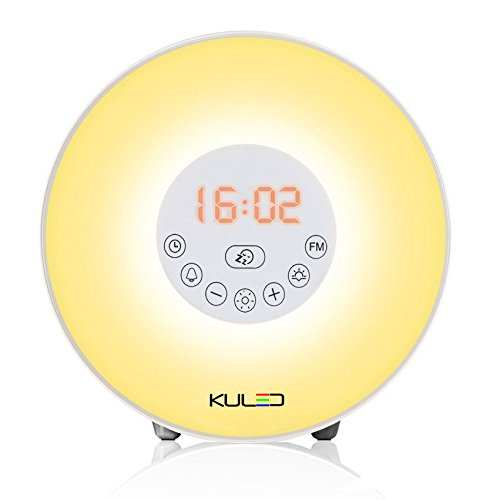 Alarm clock, Wake up light Sunrise Simulation Alarm Clock