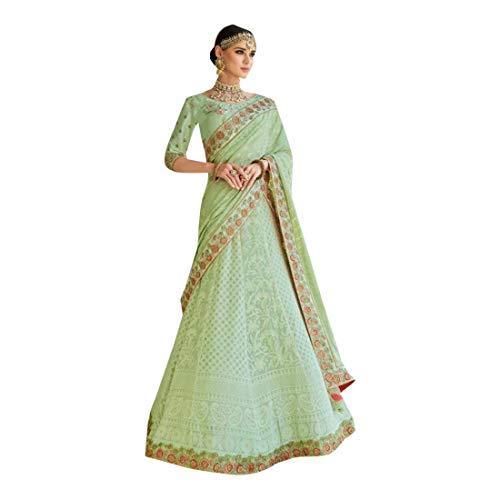 (Yarn work Lehenga Chaniya Choli Royal Indian Ethnic Hit Collection 7382)