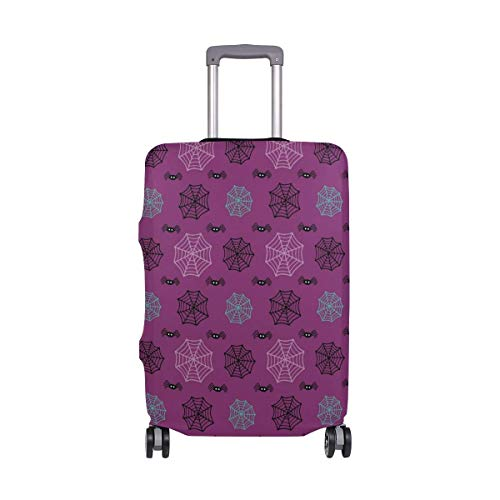 Halloween Spiders Cobwebs Pattern Travelers Choice Travel Luggage with Spinner Wheels 20 Inch Baggage Suitcase -