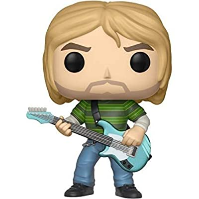 Funko Pop! Music: Kurt Cobain (Teen Spirit) Collectible Figure: Nirvana, Kurt Cobain: Toys & Games