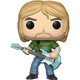 Boneco Funko Pop Rocks Kurt Cobain (striped Shirt) Funko Pop Na