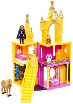 Disney La Bella y La Bestia Le Castillo de La Bella Y La Bestia: Amazon.es: Juguetes y juegos