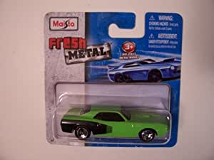 Amazon.com: Maisto Fresh Metal Die-Cast Vehicles ~ 1971 Plymouth Hemi 'Cuda (Green) by Maisto