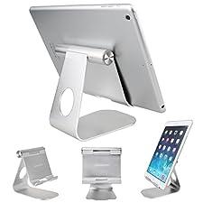 Tablet Stand Holder , Oenbopo 270° Rotatable Aluminum Desktop Tablet Holder Stand for iPad Pro iPad Mini iPad Air iPhone 7/7Plus 6S Plus 5S 5C Samsung S6 S5 S4 S3 Tablet PC GPS