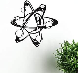 Átomo Ciencia Pegatinas de Pared Decoración Del Hogar Sala de ...