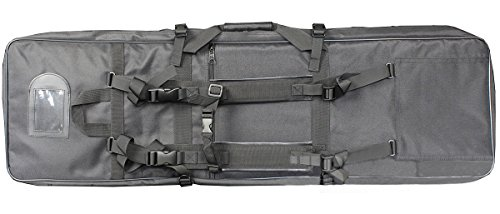 A&N Airsoft Large 100cm Long Firearm Transportation Bag Black by A&N