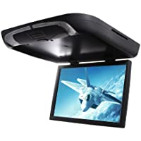 Absolute DFL-1800IRB 18-Inch Flip Down Monitor TFT Display Built-in DVD Player, USB/SD Card and IR Transmitter (Black)