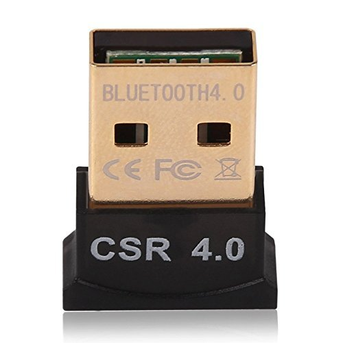 USB Bluetooth 4.0 V4.0 Version USB Bluetooth Wireless Micro Adapter EDR MINI Dongle Compatible For PC Windows 7 /8/10 Vista XP Stereo Headset NEW (Style 1) (Bluetooth Dongle For Pc)