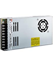Meanwell schakelvoeding, gesloten structuur, 1 uitgang, VIN = 180-264 VAC, VDC = 240-370 V, 24 V, 350 W