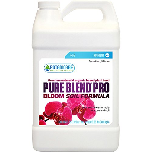 Sunlight Supply Botanicare Pure Blend Pro Bloom Soil Formula - 1-4-5 Formula, 1-Gallon