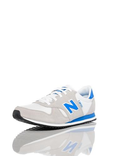 New Balance Unisex-Erwachsene Custom Classic M400 Gymnastikschuhe, Beige Blau-Grau-Weiß