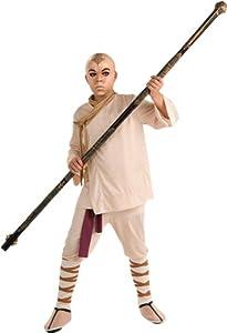 Amazon.com: The Last Airbender Aang Deluxe Kids Costume, Medium (8-10