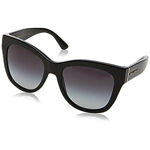 Dolce & Gabbana Women's 0DG4270 Black/Grey Gradient Sunglasses