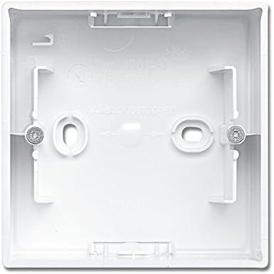 Busch-Jaeger Caja de interruptores 1701 – 914 alpinweiß Busch de balance SI aufputzg ehäuse 4011395190166: Amazon.es: Bricolaje y herramientas