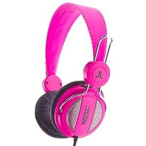 WeSC Oboe Headphones (Magenta)