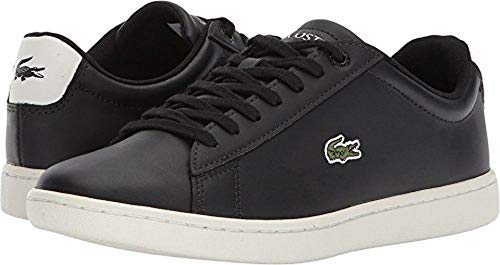 Lacoste Womens Hydez Black/Off-White 8 M