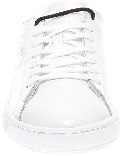 Puma Basket Classic Croc Men's Sneakers White/Silver 362238-01 (8 D(M) US) outlet locations cheap online cheap outlet locations clearance low price fee shipping zcIYfjd