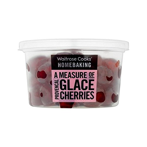 Cooks' Ingredients Glace Cherries Waitrose 200g - Pack of 6