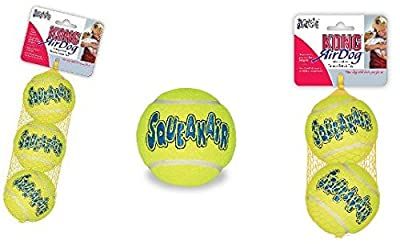 KONG Squeaker Tennis Balls,Dog Toy