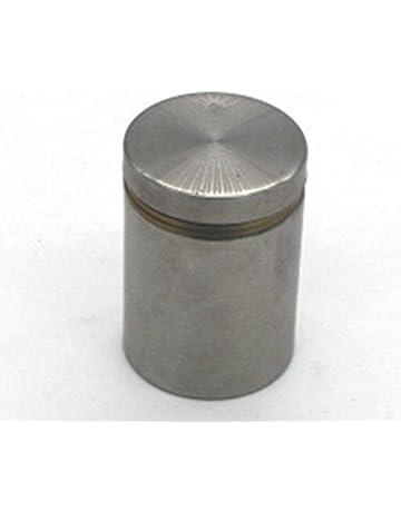 Fishroll Tornillo de acero inoxidable para anuncios, 2 unidades, color plateado