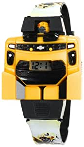 Transformers Kids' WB6464044AMC Bumblebee Digital Transforming Watch