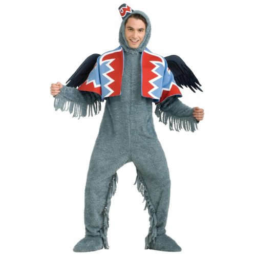 Wizard of Oz - Flying Monkey Adult Halloween Costume Size 44-46 X-Large (XL)]()