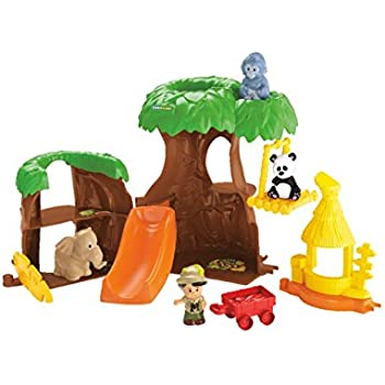 Amazon.com: Fisher-Price Little People Animal Treehouse ...