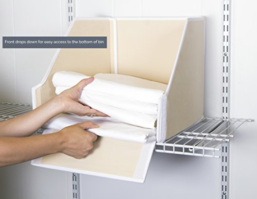 Great Useful Stuff G U S Ivory Linen Closet Storage