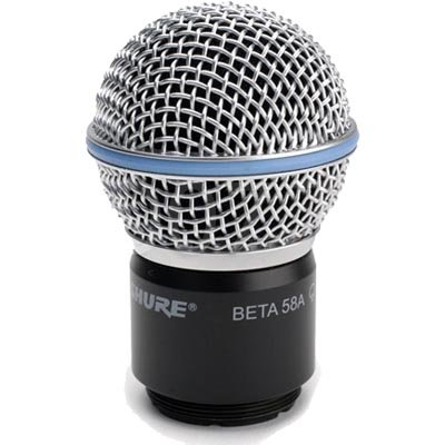 Beta58 Wireless Handheld Transmitter Microphone - Shure RPW118 Dynamic Replacement Element for Beta 58A Microphone Transmitters