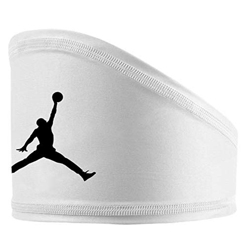 Nike Air Jordan Dri-Fit Skull Ventilation Wrap White -