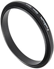 Fotodiox 52mm-55mm, 52-55mm Macro Close-up Reverse Ring, Anodized Black Metal Ring, for Nikon, Canon, Sony, Olympus, Pentax, Panasonic, Samsung Camera