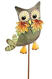 Miles Kimball Metal Harvest Owl Decoration